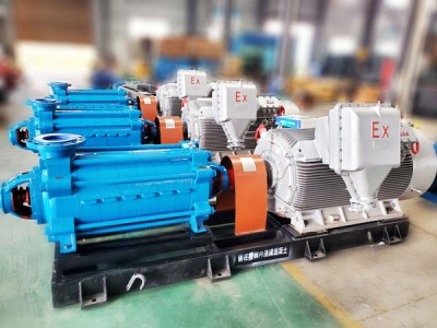 MD型卧式多级矿用离心泵